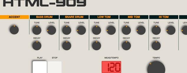 La caja de ritmos Roland TR-909 en tu PC