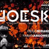 JoeSki en Chile 30 de abril
