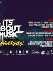 Budweiser presenta: 4to Aniversario It's About Music / Club Room