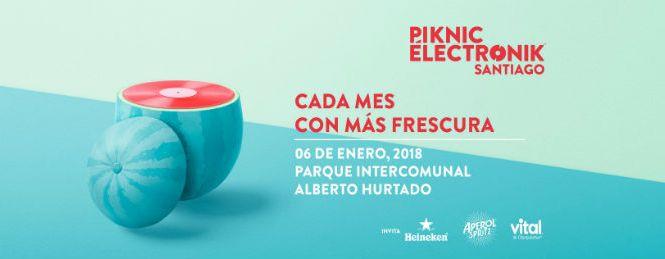 Piknic Électronik #3 | Parque Intercomunal Alberto Hurtado