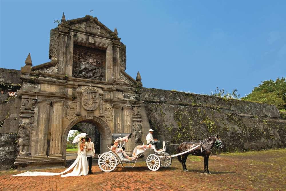 Sposi nelle Filippine