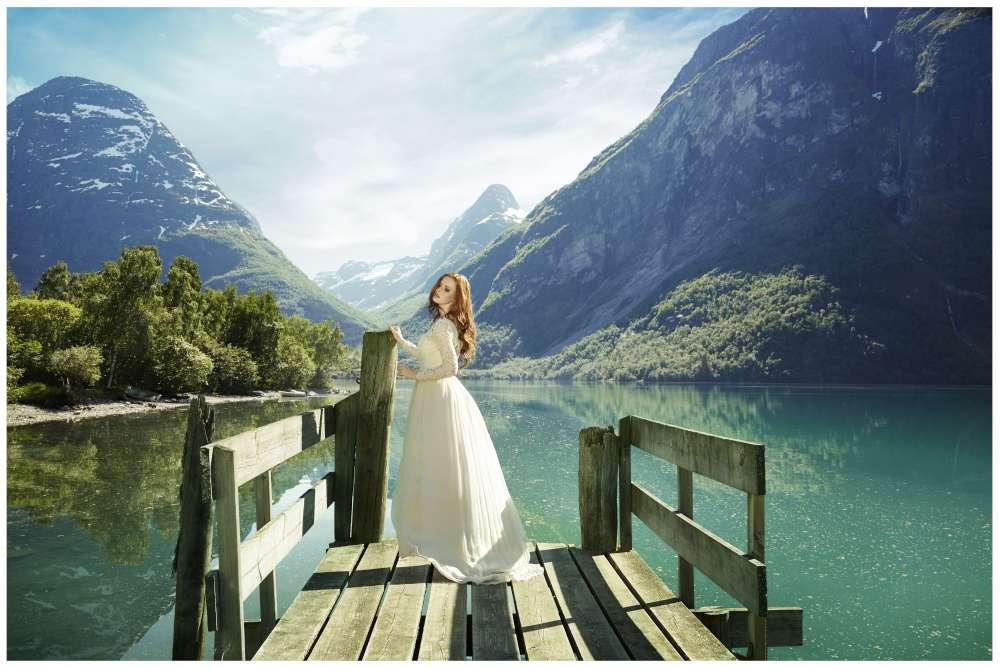 Leila Hafzi abito da sposa