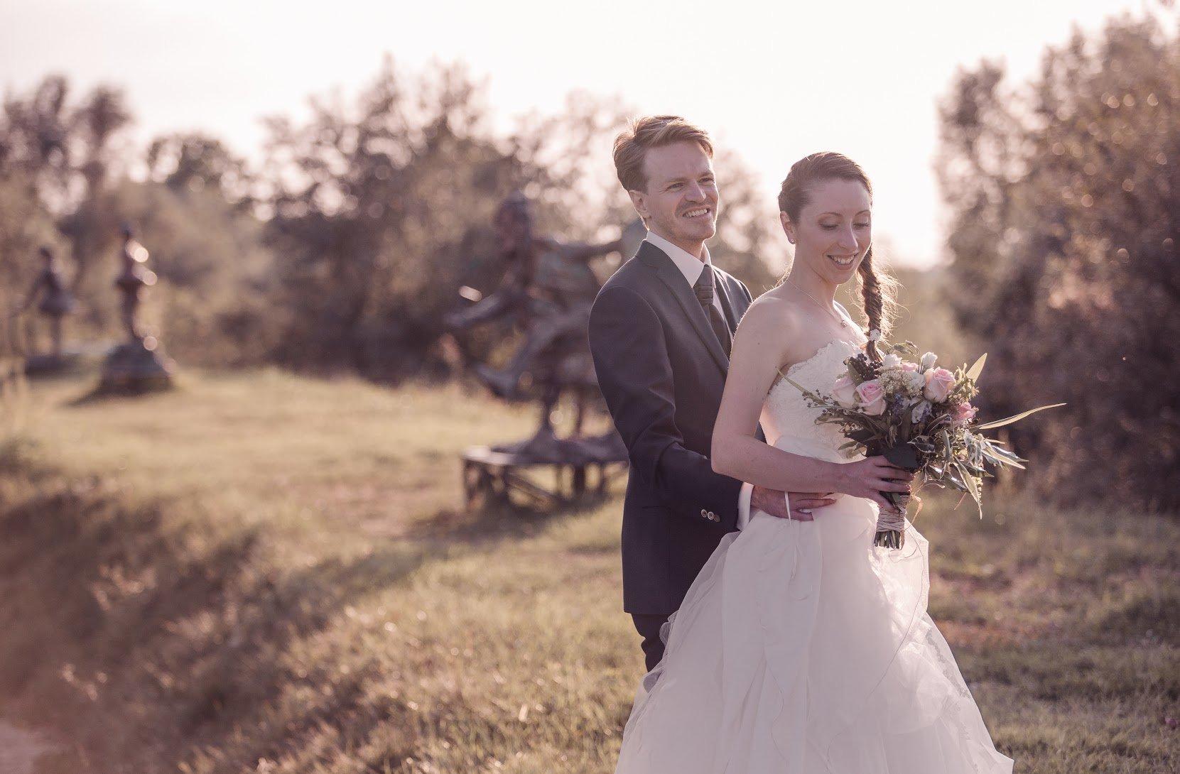Irene ed Emanuele sposi