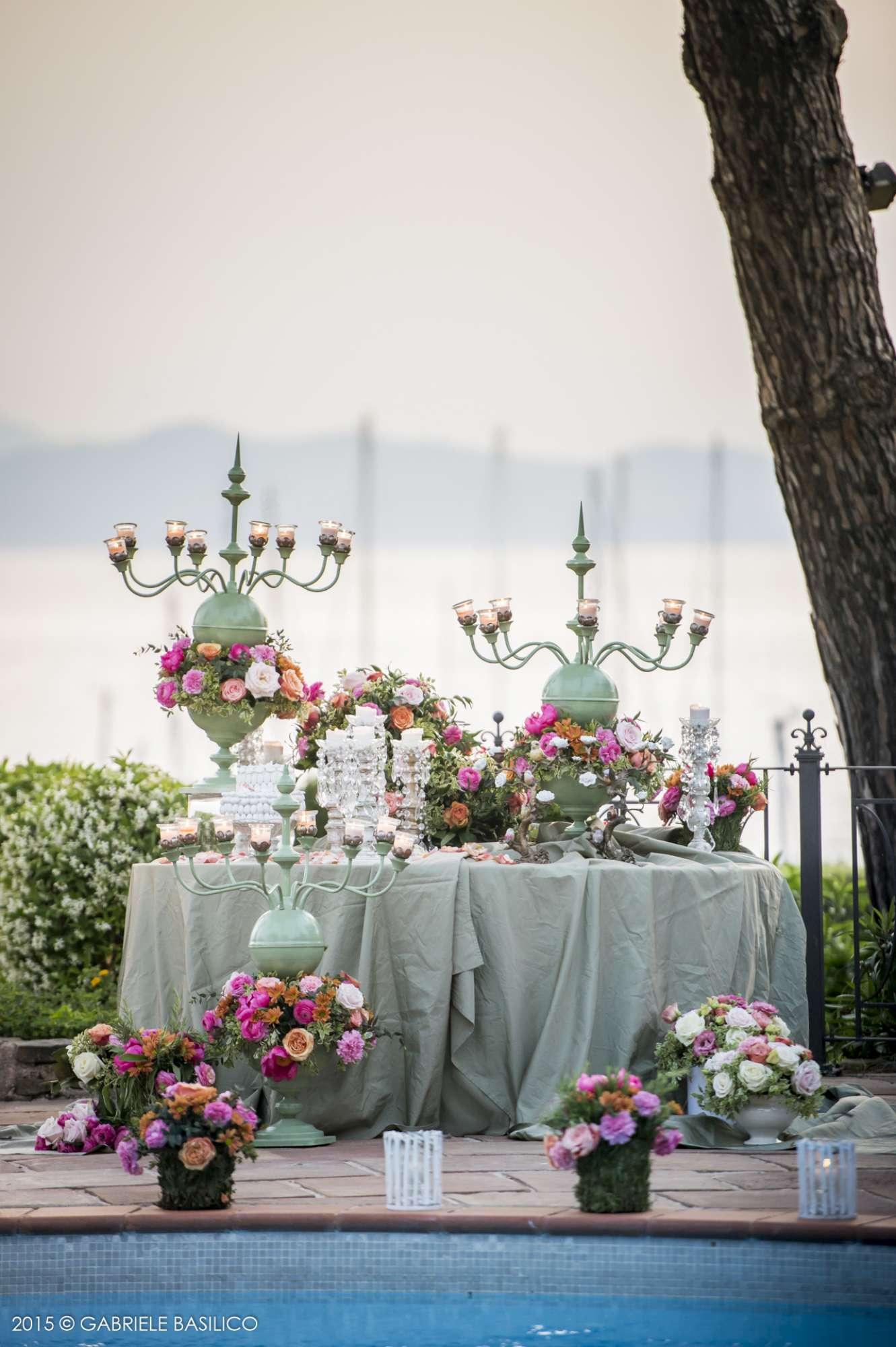Tavolo degli sposi Angelo Garini