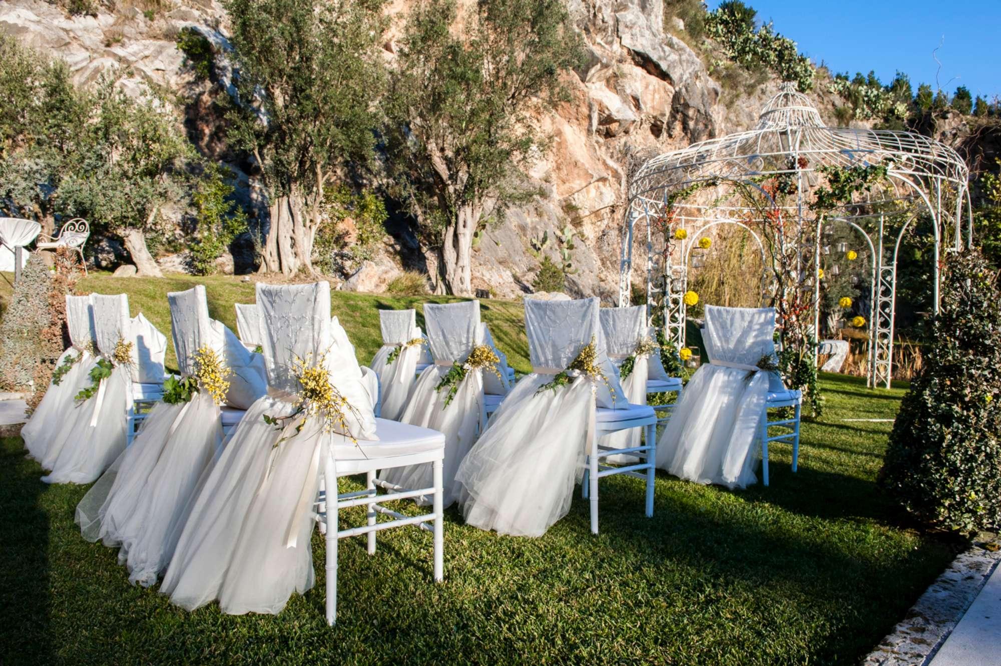 Matrimonio Festa della Donna, l'allestimento