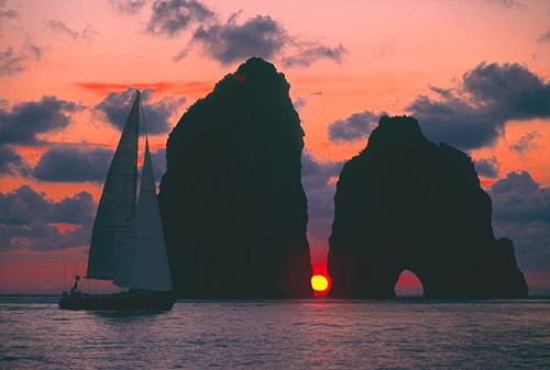 Una splendida immagine dei Faraglioni di Capri