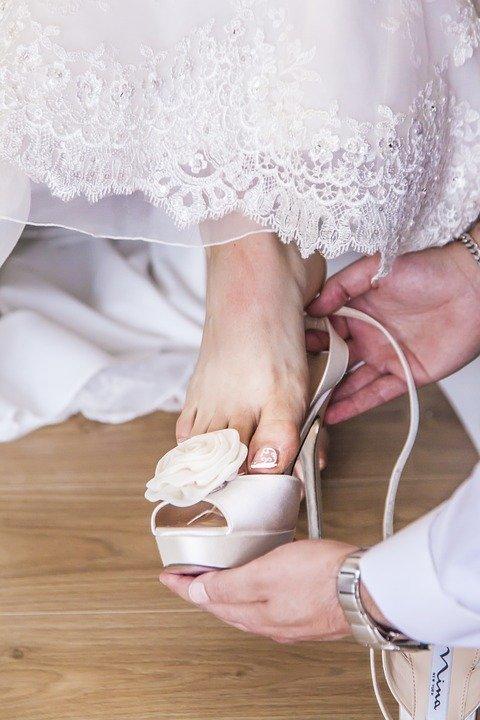 piedi sposa