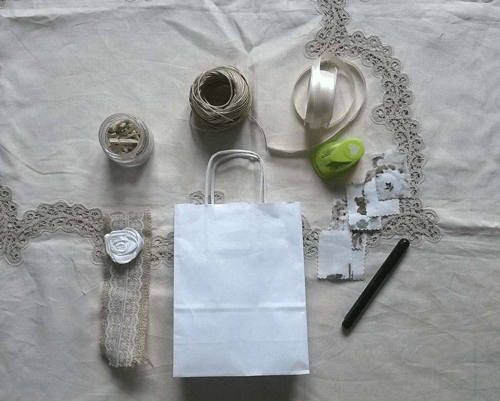 Tutorial wedding bag classica