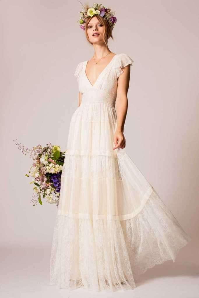 Amato Matrimonio country: l'abito da sposa perfetto - Panorama Sposi WJ19