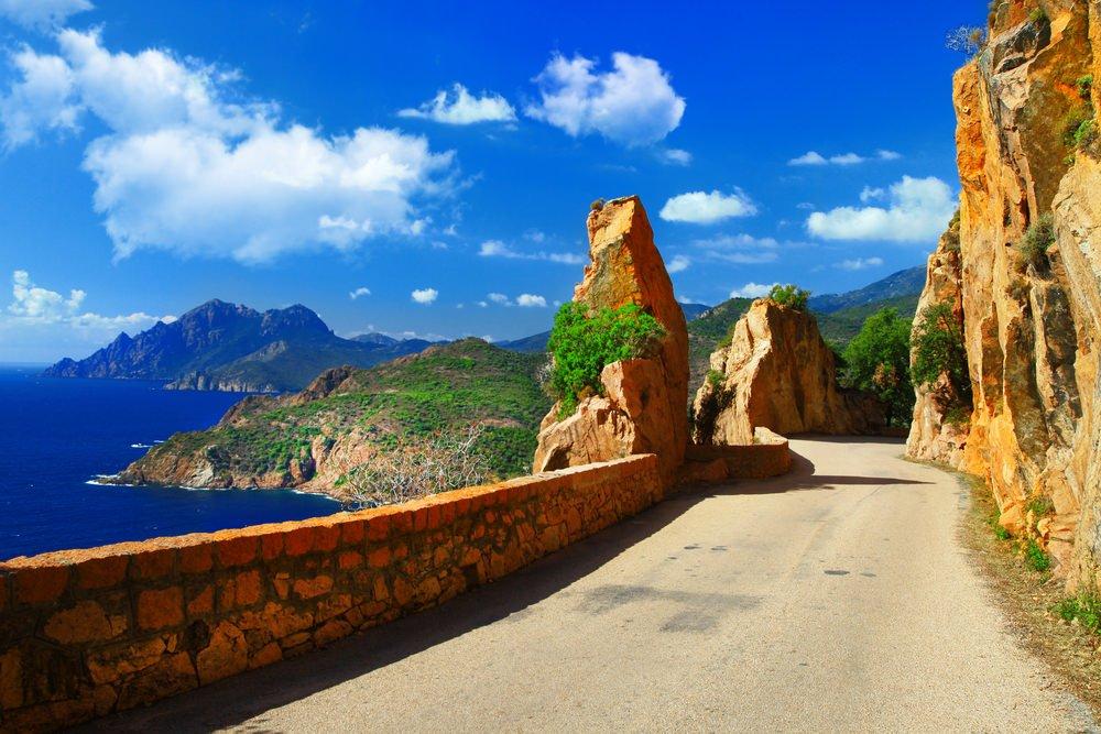 Viaggio di nozze in Corsica, Route des Calanques