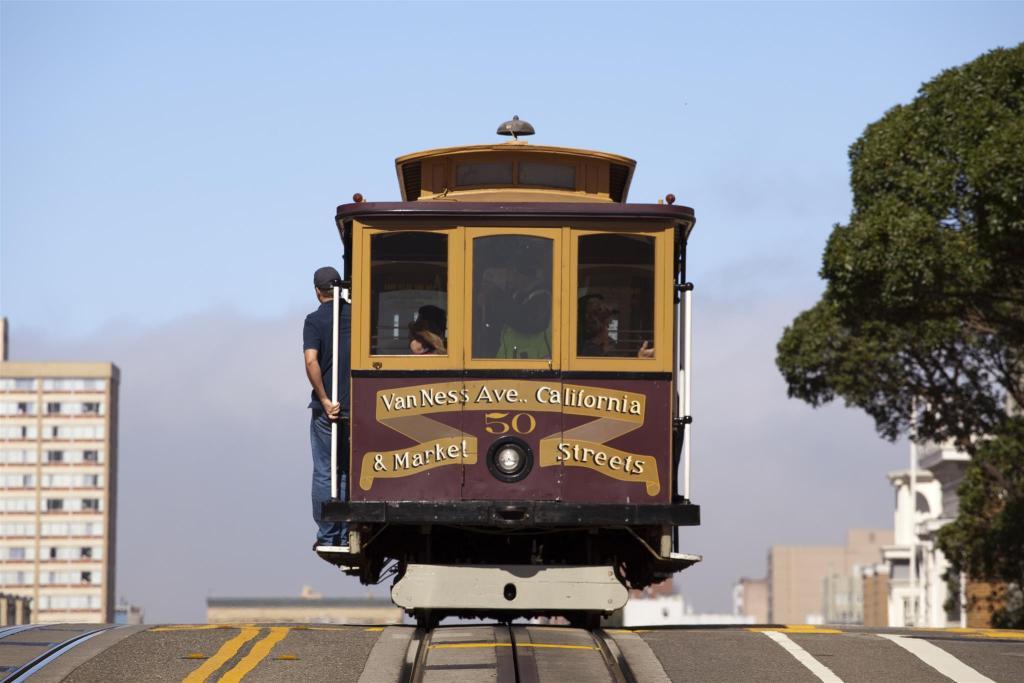 Viaggio di nozze in California, tram a San Francisco