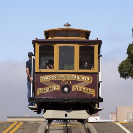 Tram a San Francisco, viaggio di nozze in California