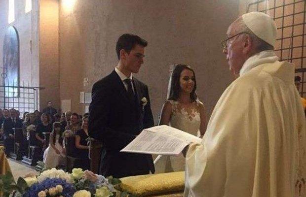 papa francesco matrimonio