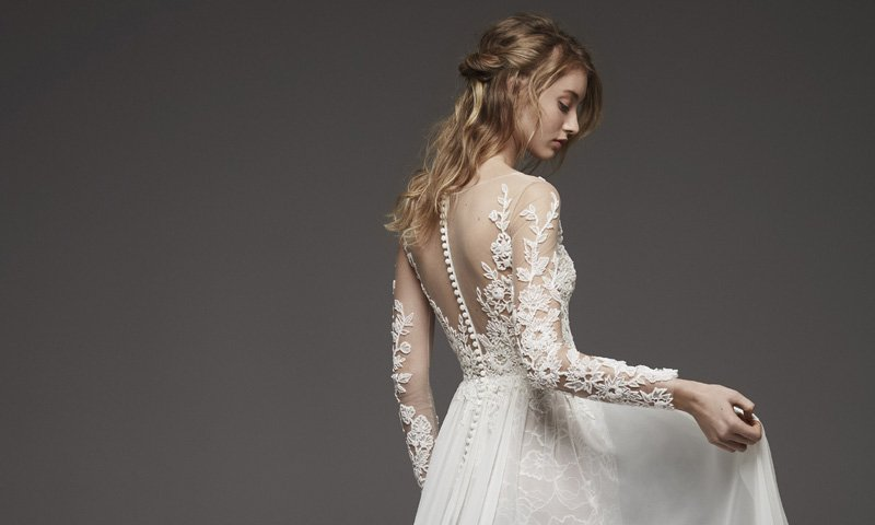 Pronovias Presents The Stunning 2018 Preview Collections: Caterina Dress 2019 ATELIER PRONOVIAS T Wedding