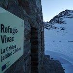 El Mulhacen desde el refugio de La Caldera