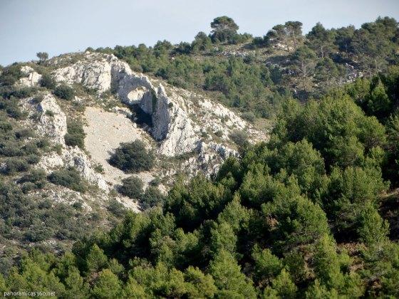 Arc dels Xorquets en la Sierra de Aixortá