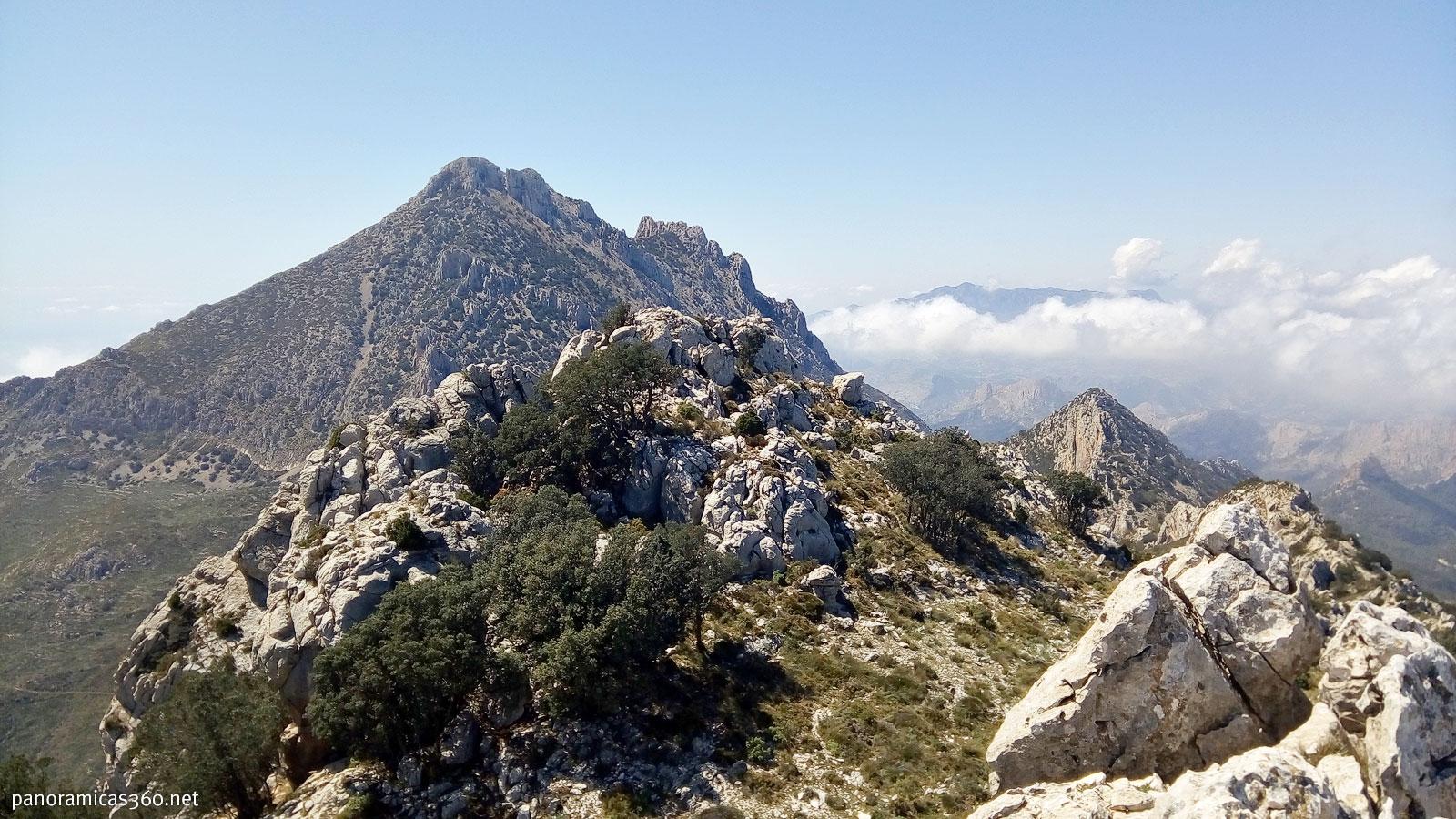 Puig Campana desde el Ponoig