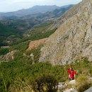Escalada en el Peñón Divino (Alicante). Espolón Pertemba