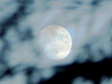Una de ls tres super lunas del año desde el Maigmó
