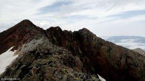 Caminando hacia la Punta del Ibón