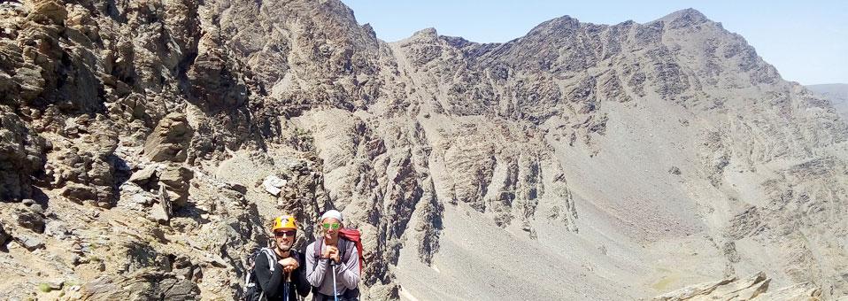 Espolón de la Alcazaba en Sierra Nevada