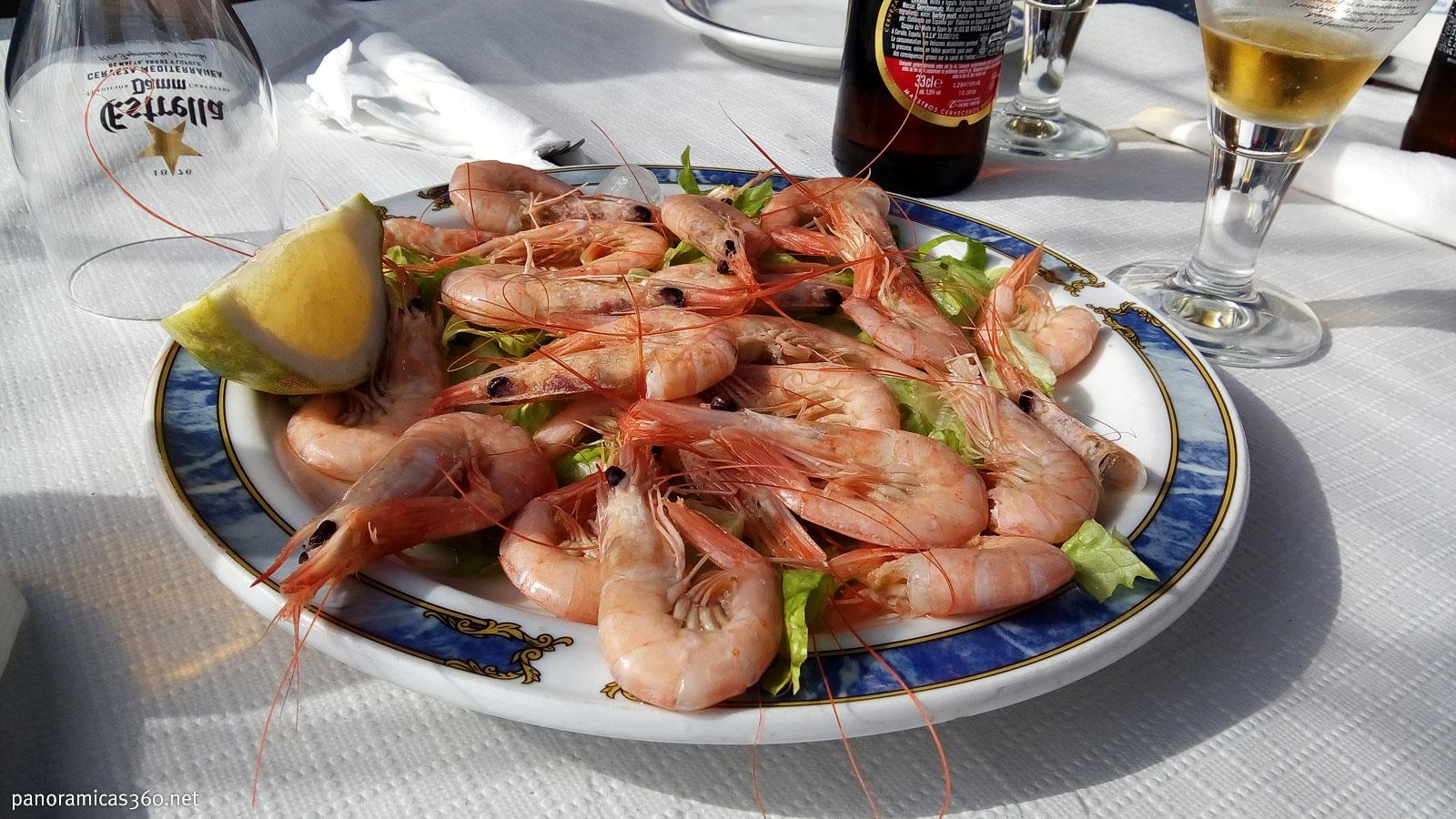 Almuerzo en Santa Pola