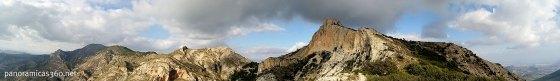 Panorámica de la Sierra del Maigmó
