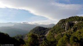 Sierra de Aitana vista desde la Serrella
