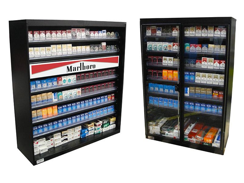 cigarette display cases pan oston