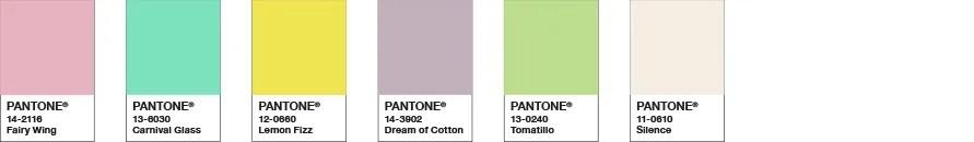Color Trend Highlights Spring/Summer 2021 | Pantone