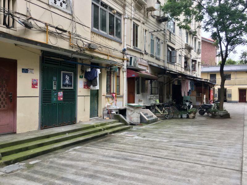shanghai, logement, allée