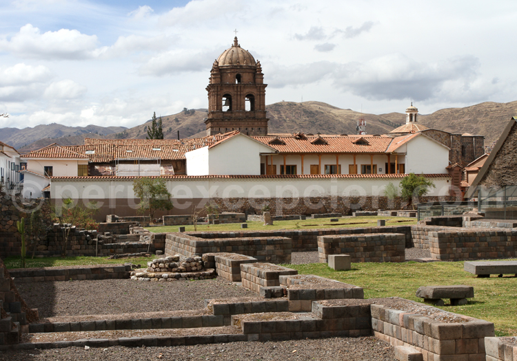 cuzco, cusco, pérou, couvent santo domingo