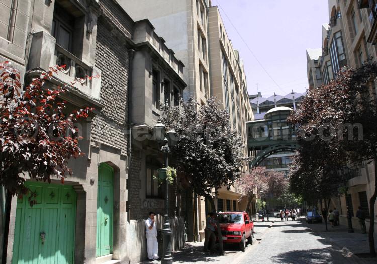 santiago, chili, quartier paris-londre