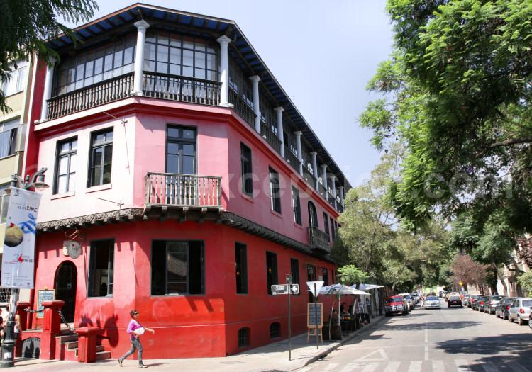 santiago, chili, quartier Lastarria