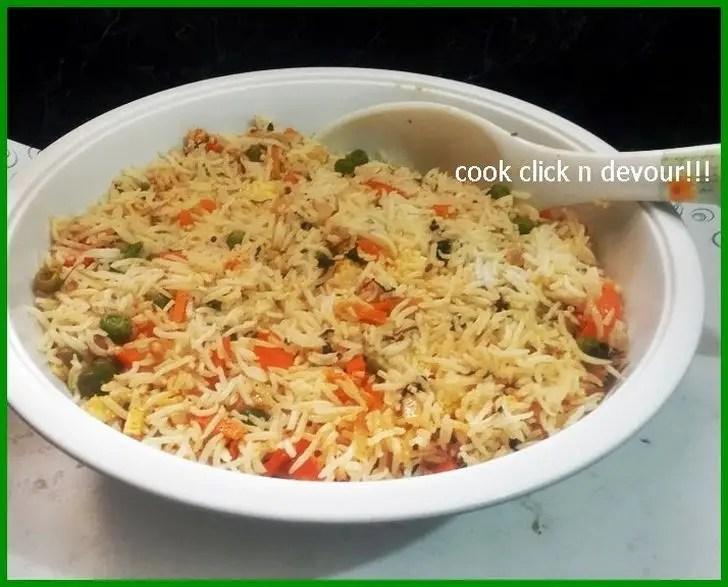 Paneer Vegetable Pulao Recipe.