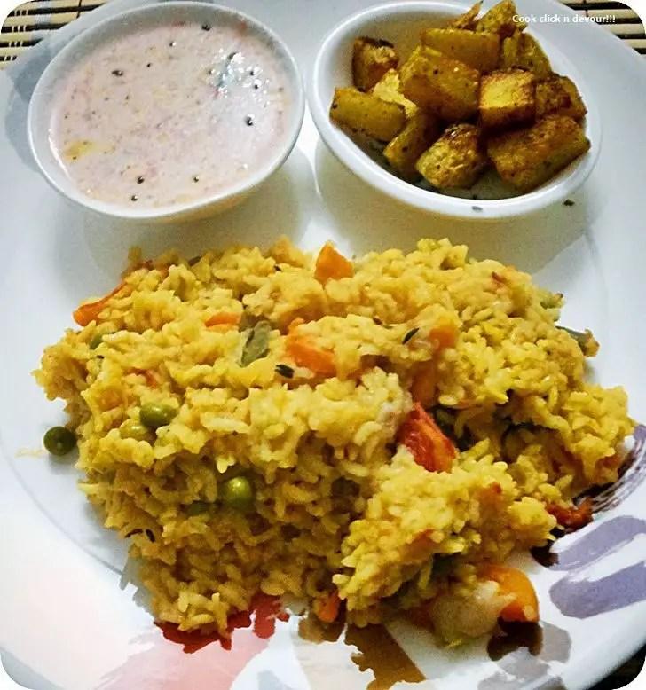 Sambar Sadham Recipe.