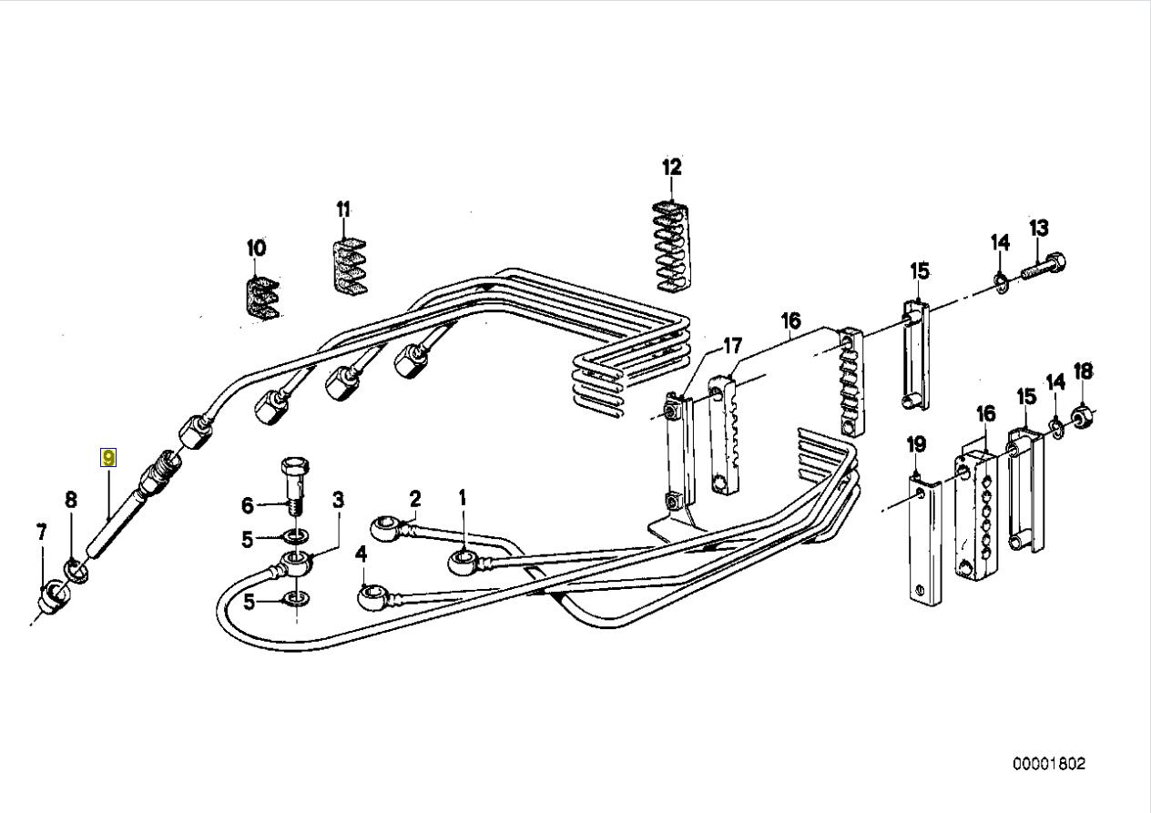 Bmw M10 Engine Bosch K Jetronic Fuel Injector
