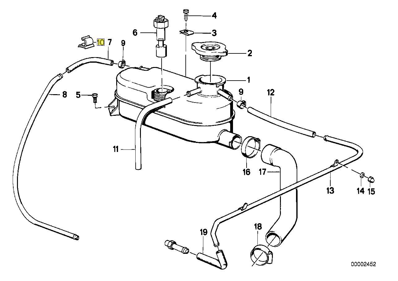 Bmw 8 Mm Kabel Rohr Halterung Klammer Schelle