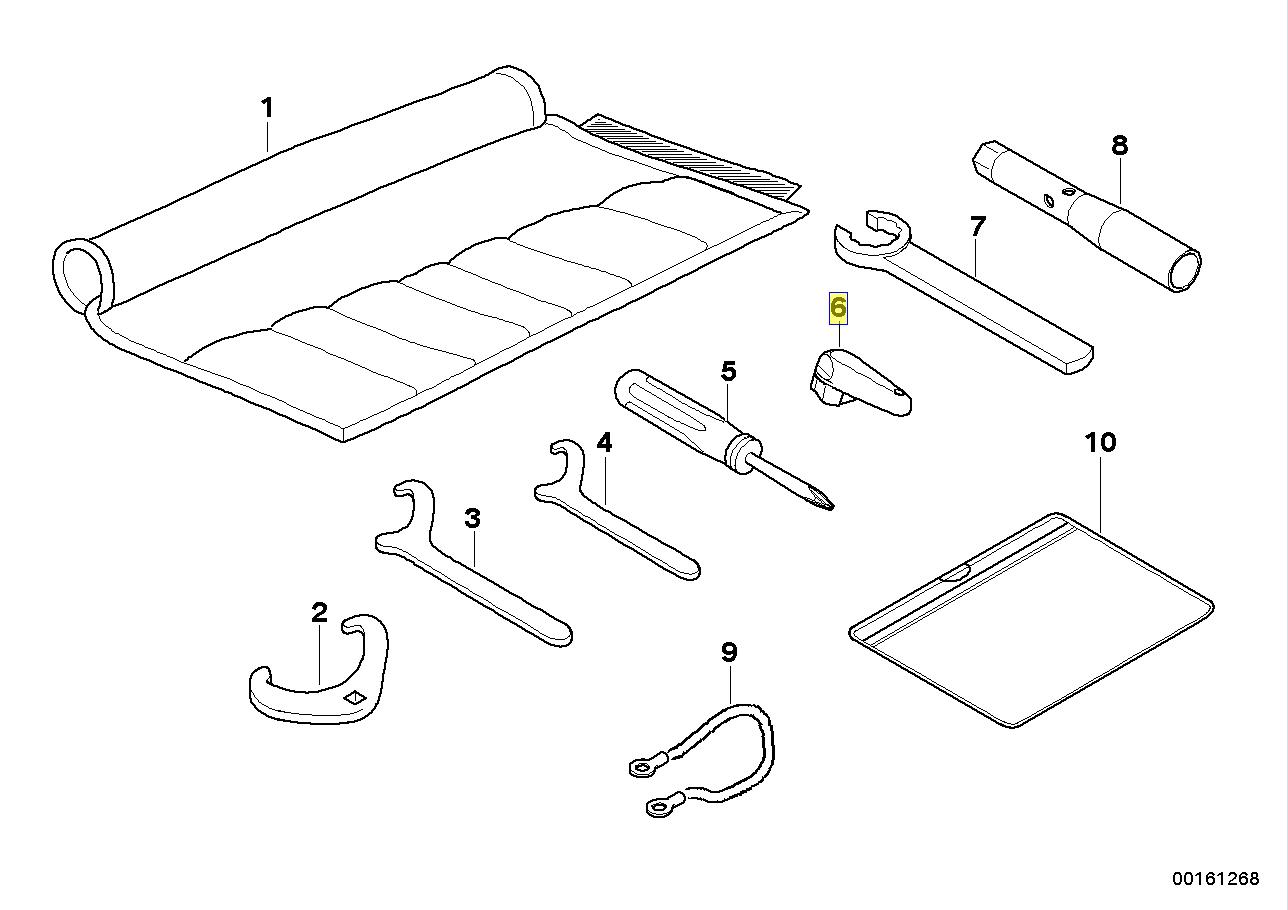 Bmw Motorrad Oil Filler Cap Removal Key Tool