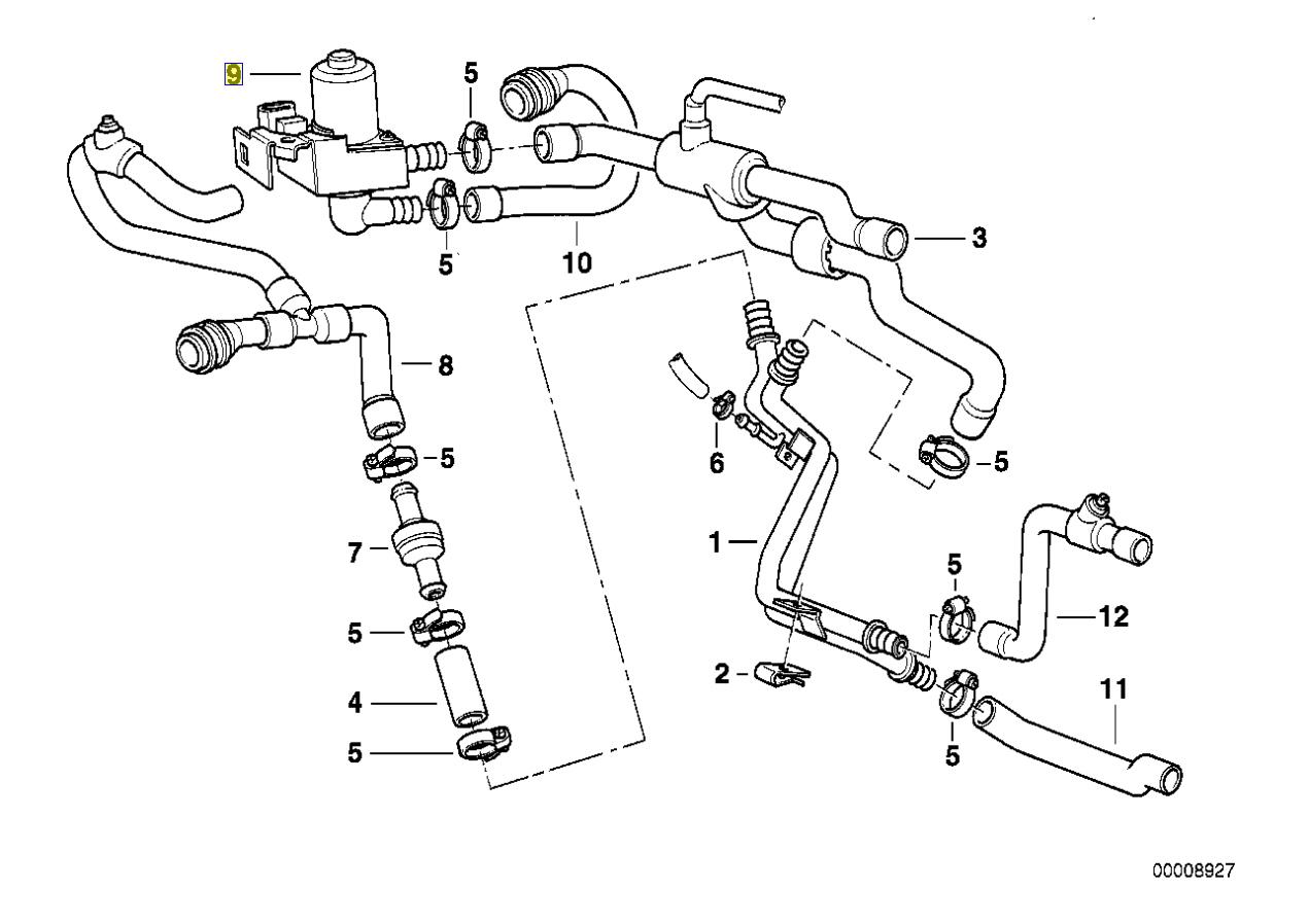 Bmw E38 V8 Kuhlwasser Heizungsregler Ventil
