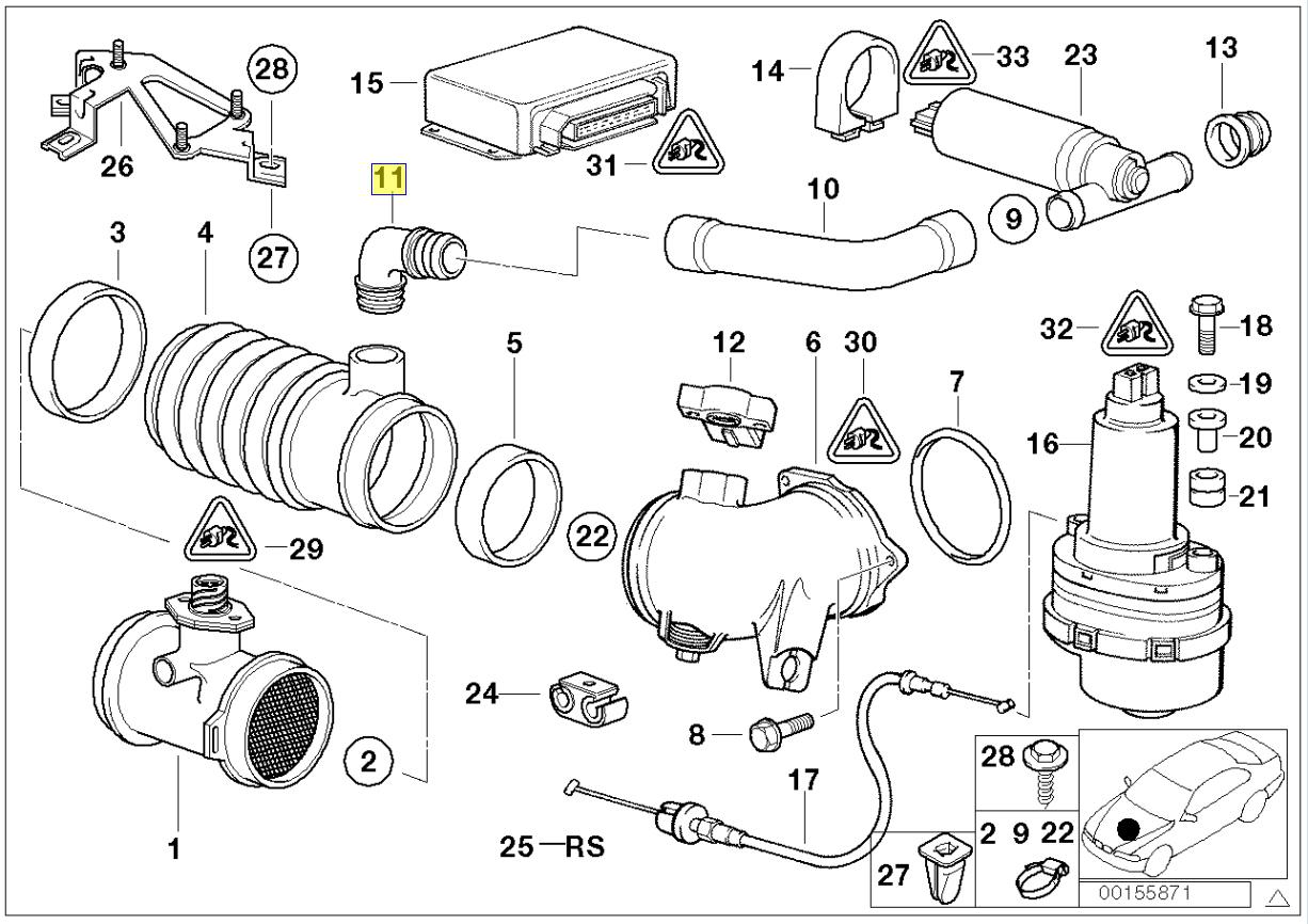 Bmw M30 M60 M62 V8 Motor Nicht Ventil 90 Gemeinsame