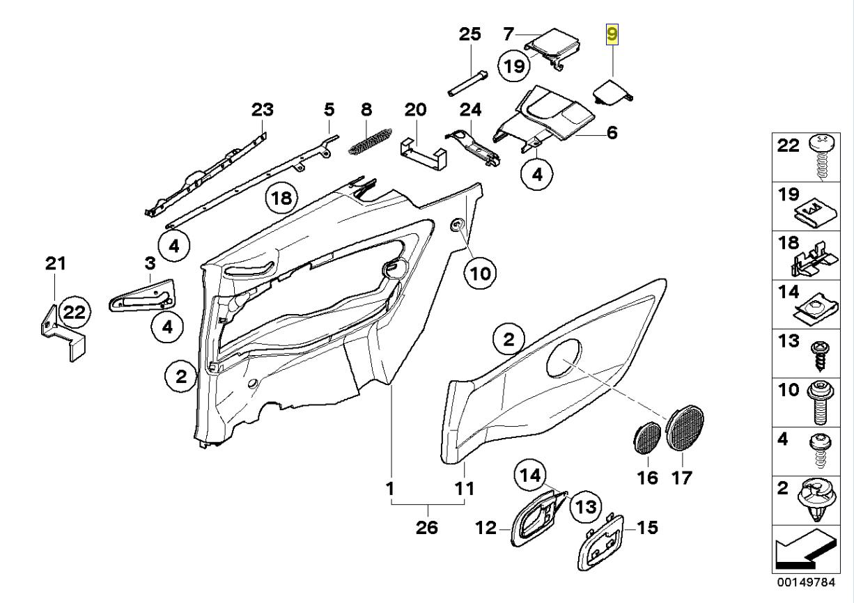 Bmw E36 Kabrio Hardtop Montage Bezug Rand Lh