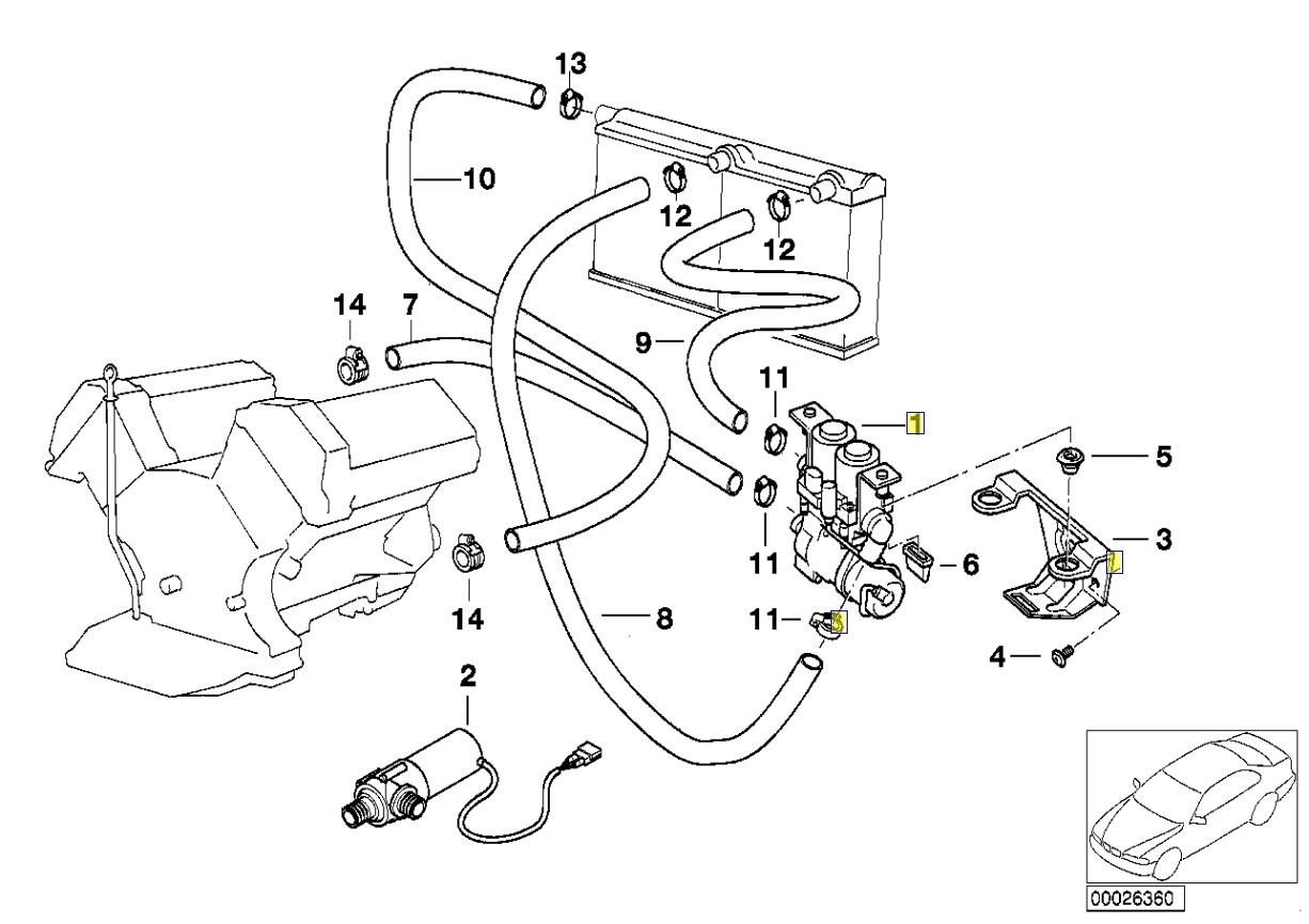 Bmw e36 auxiliary fan wiring diagram besides 1998 bmw 528i parts diagrams together with cooling system