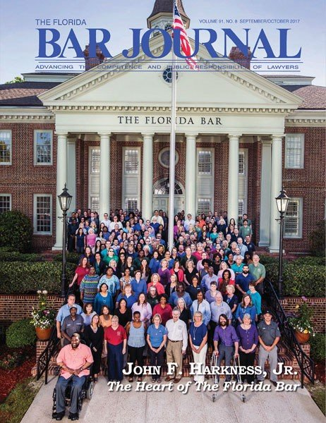 The Florida Bar Journal | Sept-Oct 2017 Edition » Cover