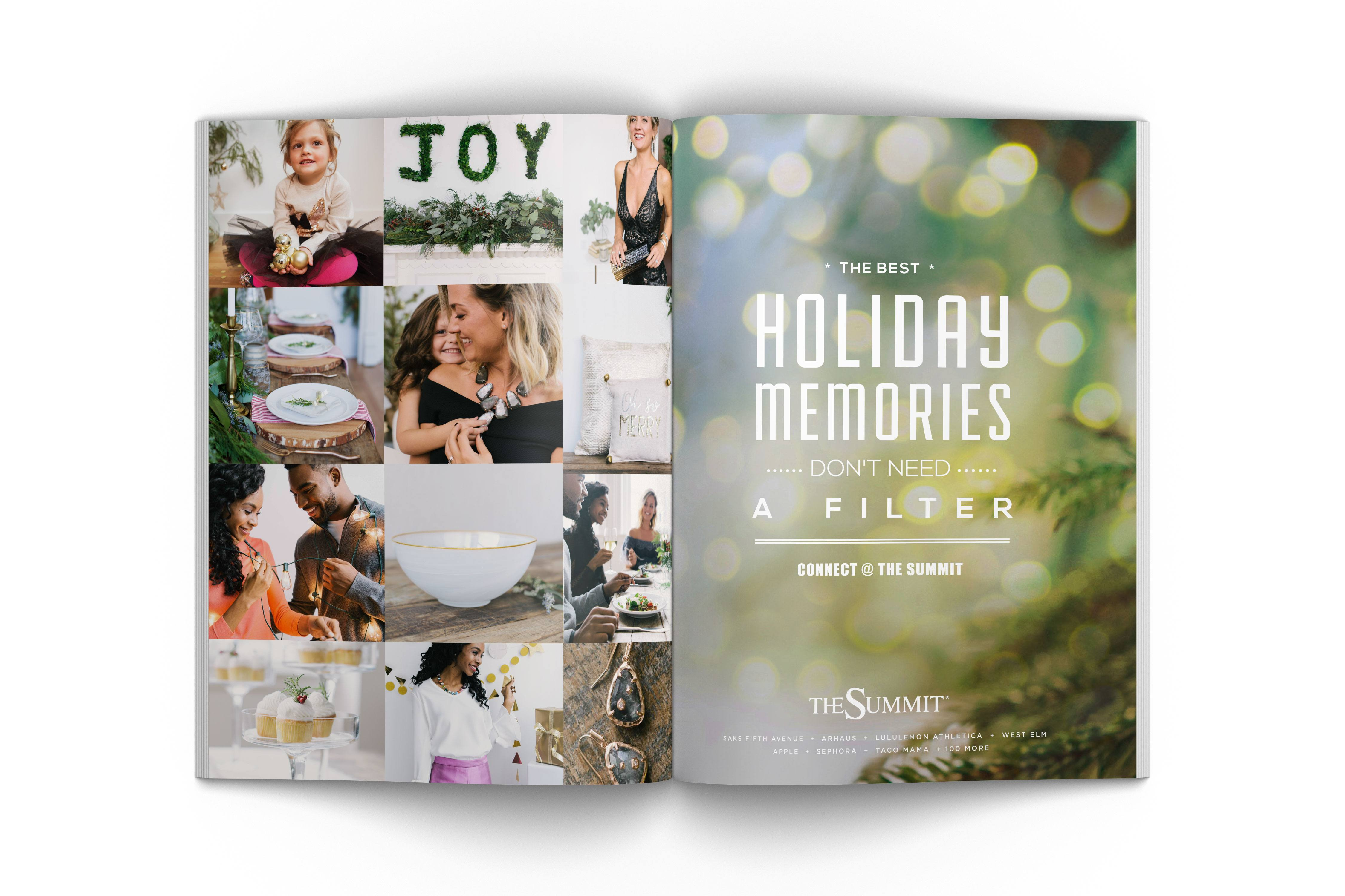 The Summit Holiday magazine ad