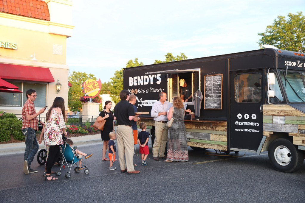 Bendy's food truck