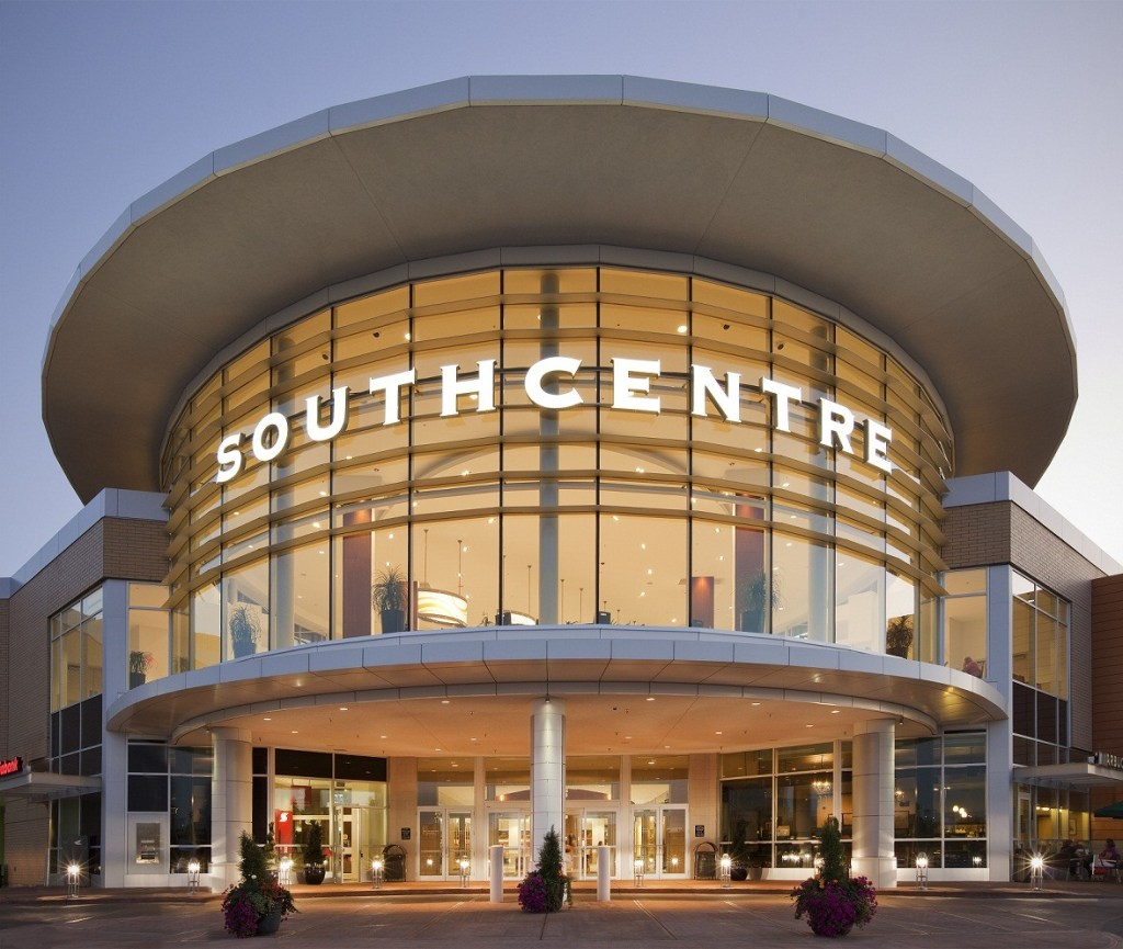 Southcentre Mall entrance