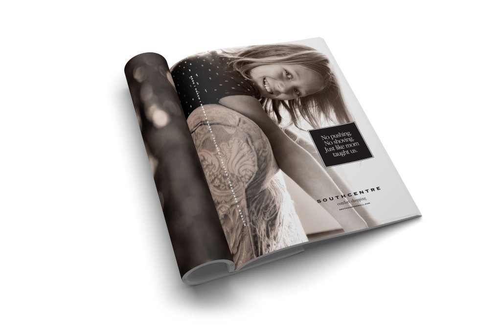 Southcentre magazine ad