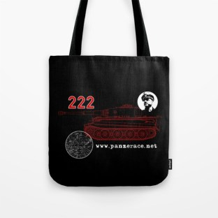 """222"" Tote Bag Black"