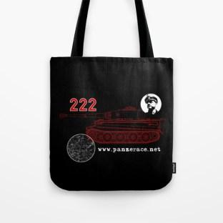 """""""222"""" Tote Bag Black"""